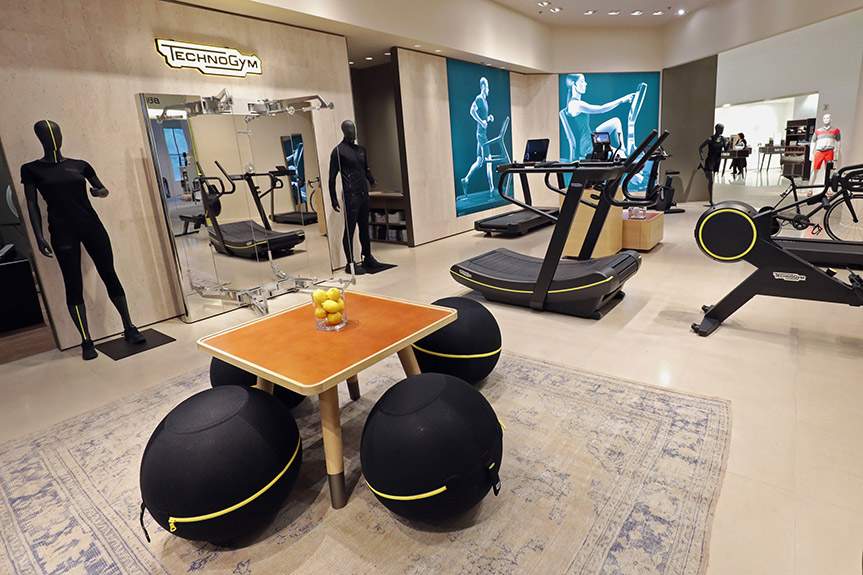Technogym_Saks Fifth Avenue